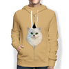 I'm With You - Persian Chinchilla Cat Hoodie V1