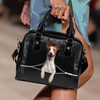 Podenco Canario Shoulder Handbag V1