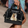 Pomsky Shoulder Handbag  V1