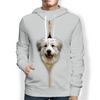 I'm With You - Great Pyrenees Hoodie V1