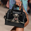 Schnauzer Shoulder Handbag V3