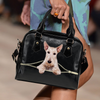 Scottish Terrier Shoulder Handbag V1