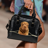 Shar Pei Shoulder Handbag V2