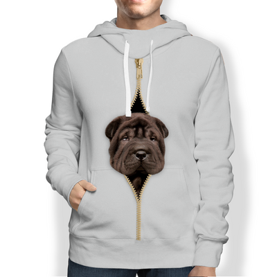 I'm With You - Shar Pei Hoodie V2