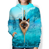 So Cool - Siamese Cat Hoodie V1