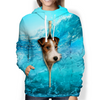 So Cool - Wire Fox Terrier Hoodie V1