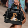 Staffordshire Bull Terrier Shoulder Handbag V3