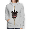 I'm With You - Staffordshire Bull Terrier Hoodie V2