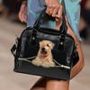 Wheaten Terrier Shoulder Handbag V1