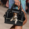 Wire Fox Terrier Shoulder Handbag V1