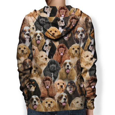 You Will Have A Bunch Of American Cocker Spaniels - Hoodie V1