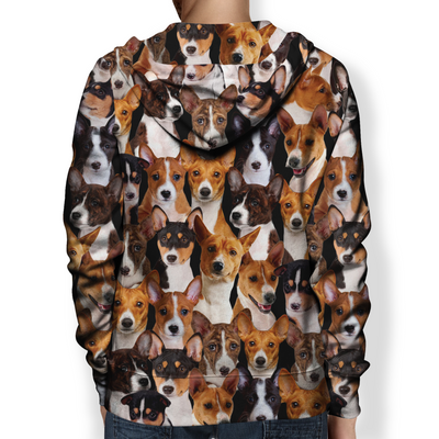 You Will Have A Bunch Of Basenjis - Hoodie V1