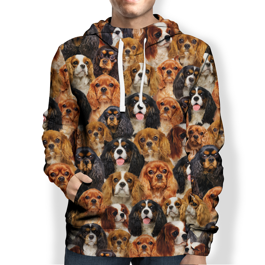 You Will Have A Bunch Of Cavalier King Charles Spaniels - Hoodie V1