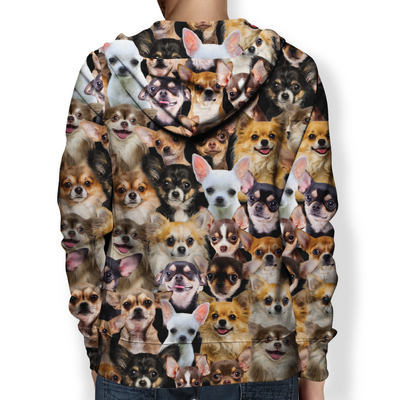 You Will Have A Bunch Of Chihuahuas - Hoodie V1