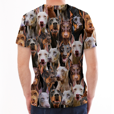 You Will Have A Bunch Of Doberman Pinschers - Tshirt V1