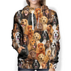 You Will Have A Bunch Of English Cocker Spaniels - Hoodie V1