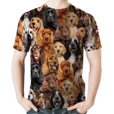 You Will Have A Bunch Of English Cocker Spaniels - Tshirt V1