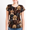 You Will Have A Bunch Of Flat Coated Retrievers - Tshirt V1