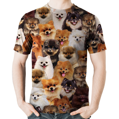 You Will Have A Bunch Of Pomeranians - Tshirt V1