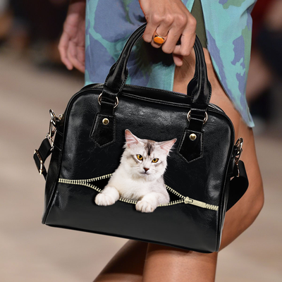 Somali Cat Shoulder Handbag V2