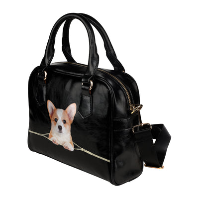 Pembroke Welsh Corgi Shoulder Handbag V3