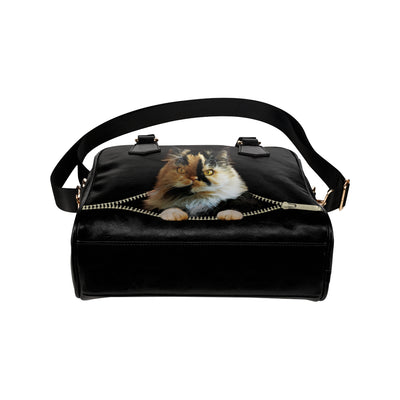 Persian Cat Shoulder Handbag V5
