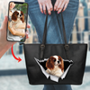 Go Out Together - Personalized Tote Bag With Your Pet's Photo V2-K