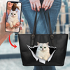 Go Out Together - Personalized Tote Bag With Your Pet's Photo V2-P
