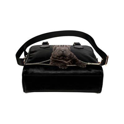 Shar Pei  Shoulder Handbag V3