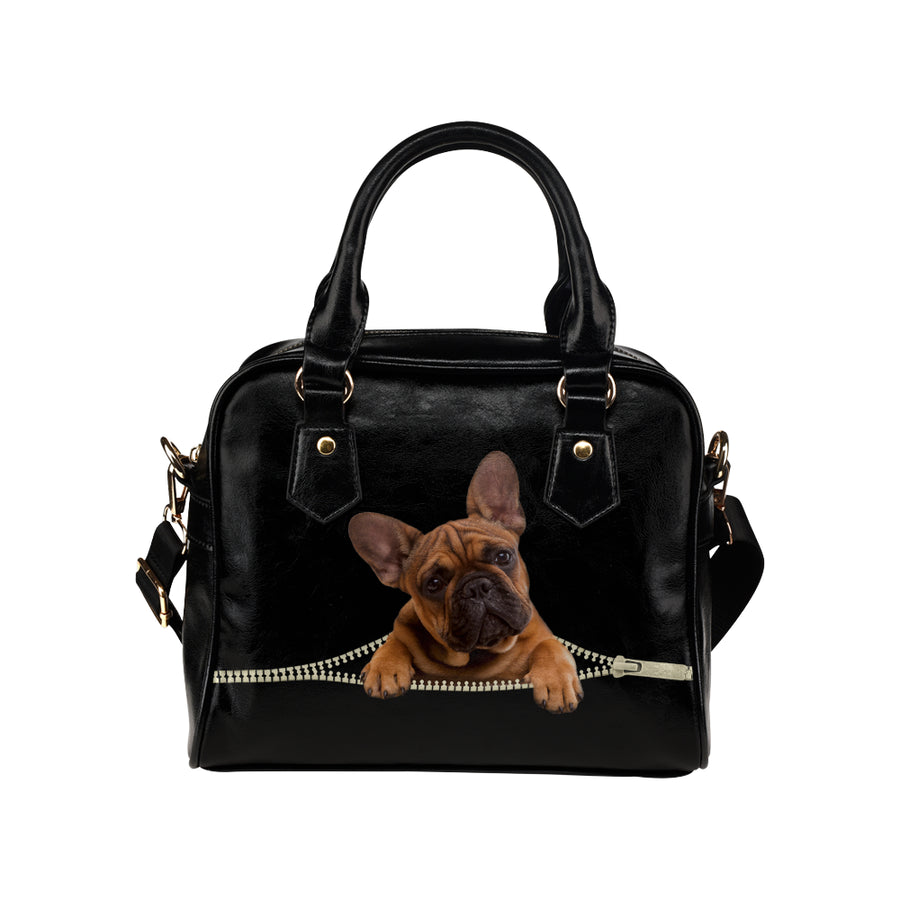 French Bulldog Shoulder Handbag V2