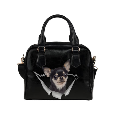 Chihuahua Shoulder Handbag V1