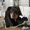Black and Tan Coonhound Blanket