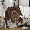 German Shorthaired Pointer Blanket V2
