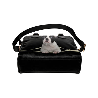 French Bulldog Shoulder Handbag V3