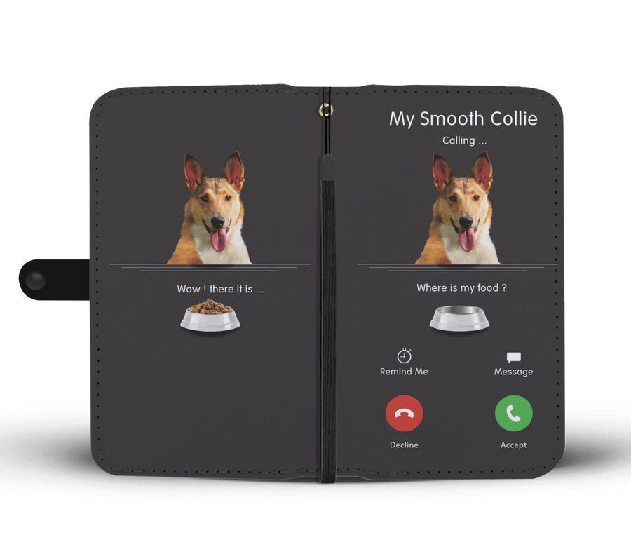 My Smooth Collie roept - Wallet Case V1