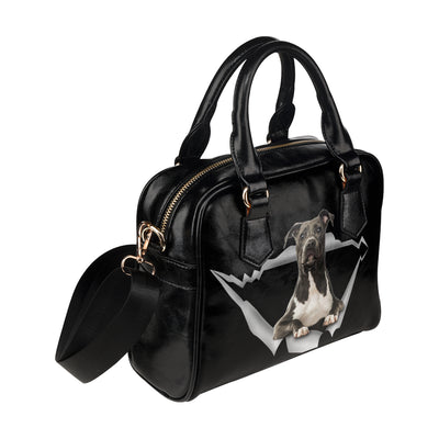 American Staffordshire Terrier Shoulder Handbag V1