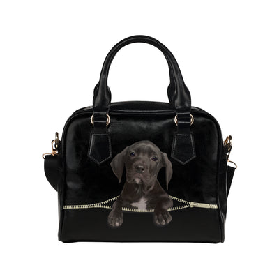 Great Dane Shoulder Handbag V1