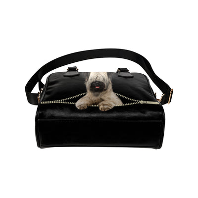 Skye Terrier Shoulder Handbag V1
