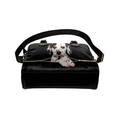 Dalmatian Shoulder Handbag V2