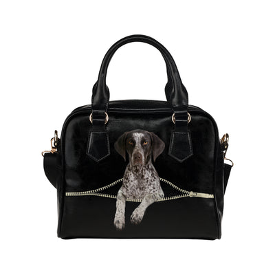 German Shorthaired Pointer Shoulder Handbag V2