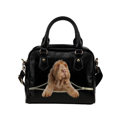 Italian Spinone Shoulder Handbag V2