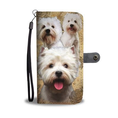 West Highland White Terrier Wallet Case