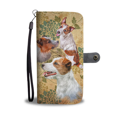 Jack Russell Terrier Wallet Case