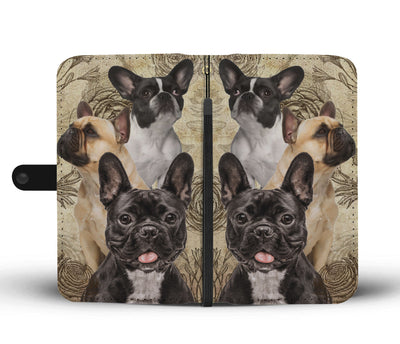 French Bulldog Wallet Case