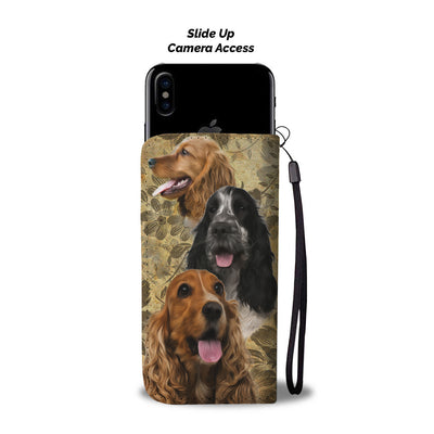 English Cocker Spaniel Wallet Case
