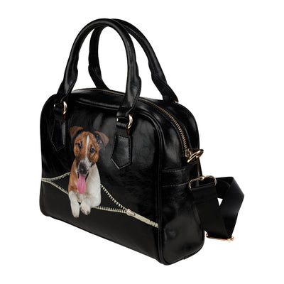 Smooth Fox Terrier Shoulder Handbag V1