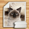 Birman Cat Blanket