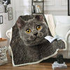 Chartreux Cat Blanket