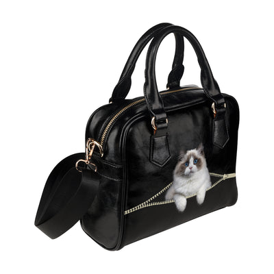 Ragdoll Cat Shoulder Handbag V1