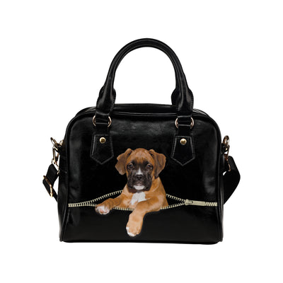 Boxer Shoulder Handbag
